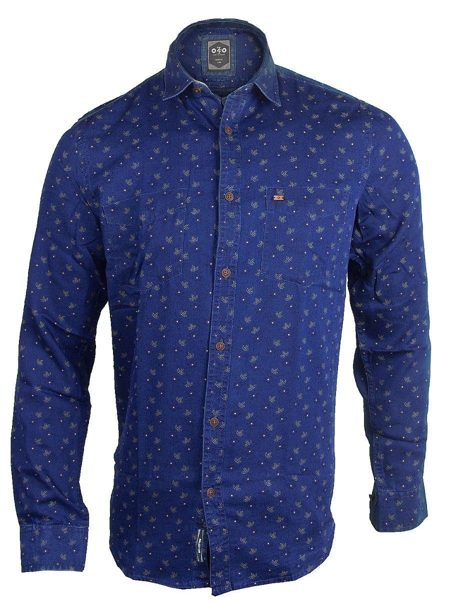 ZF Men's Casual Cotton Shirt - TUPMFB5930536