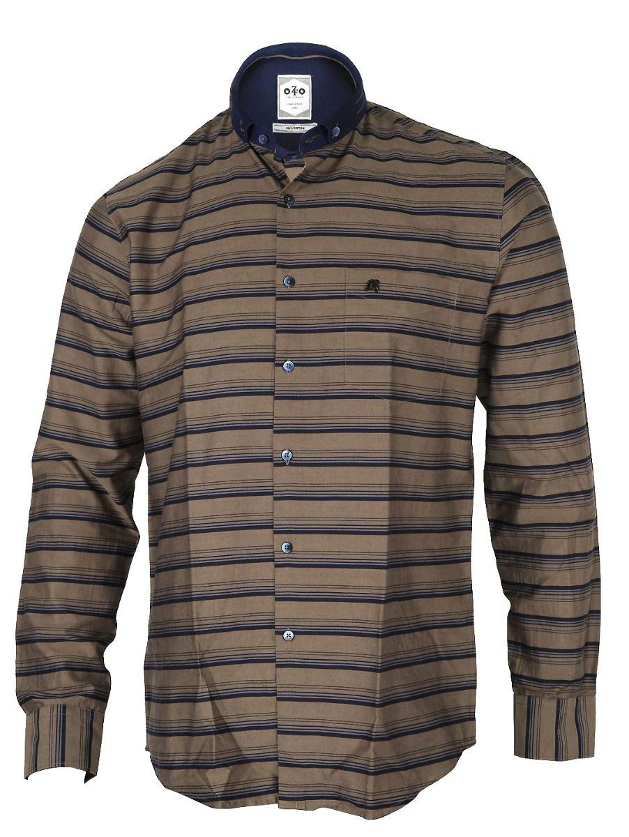 ZF  Men's Formal Cotton Shirt - TUPMFB5786876