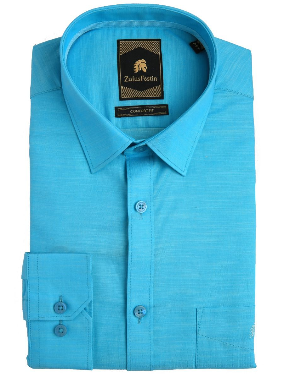 Zulus Festin Men's Pure Cotton Shirt - MFB6436197