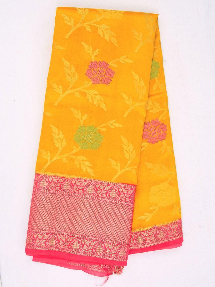 Kyathi Exclusive Dupion Tussar Silk Saree - MFB4474495
