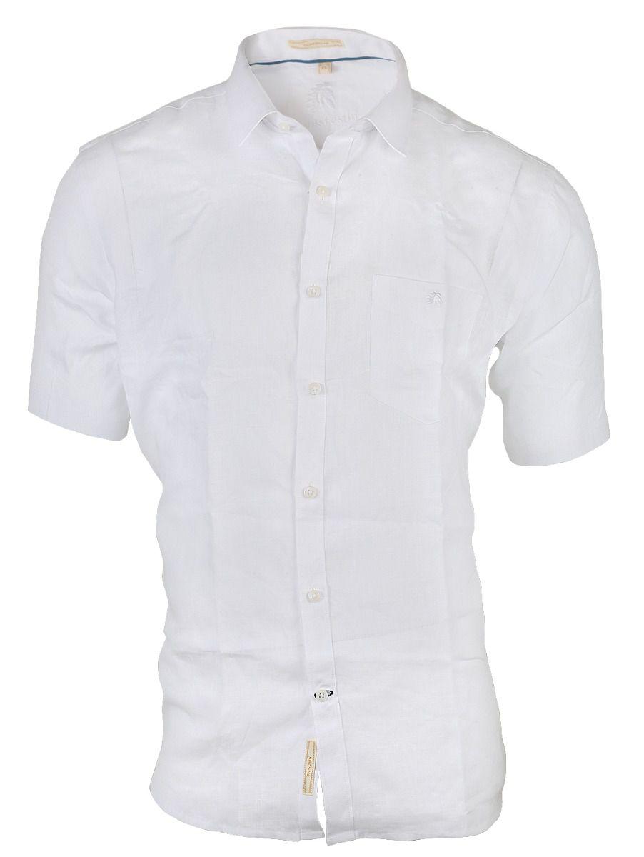Zulus Festin Men's Linen Cotton Half Sleeve Shirt - TUPMGA8100324