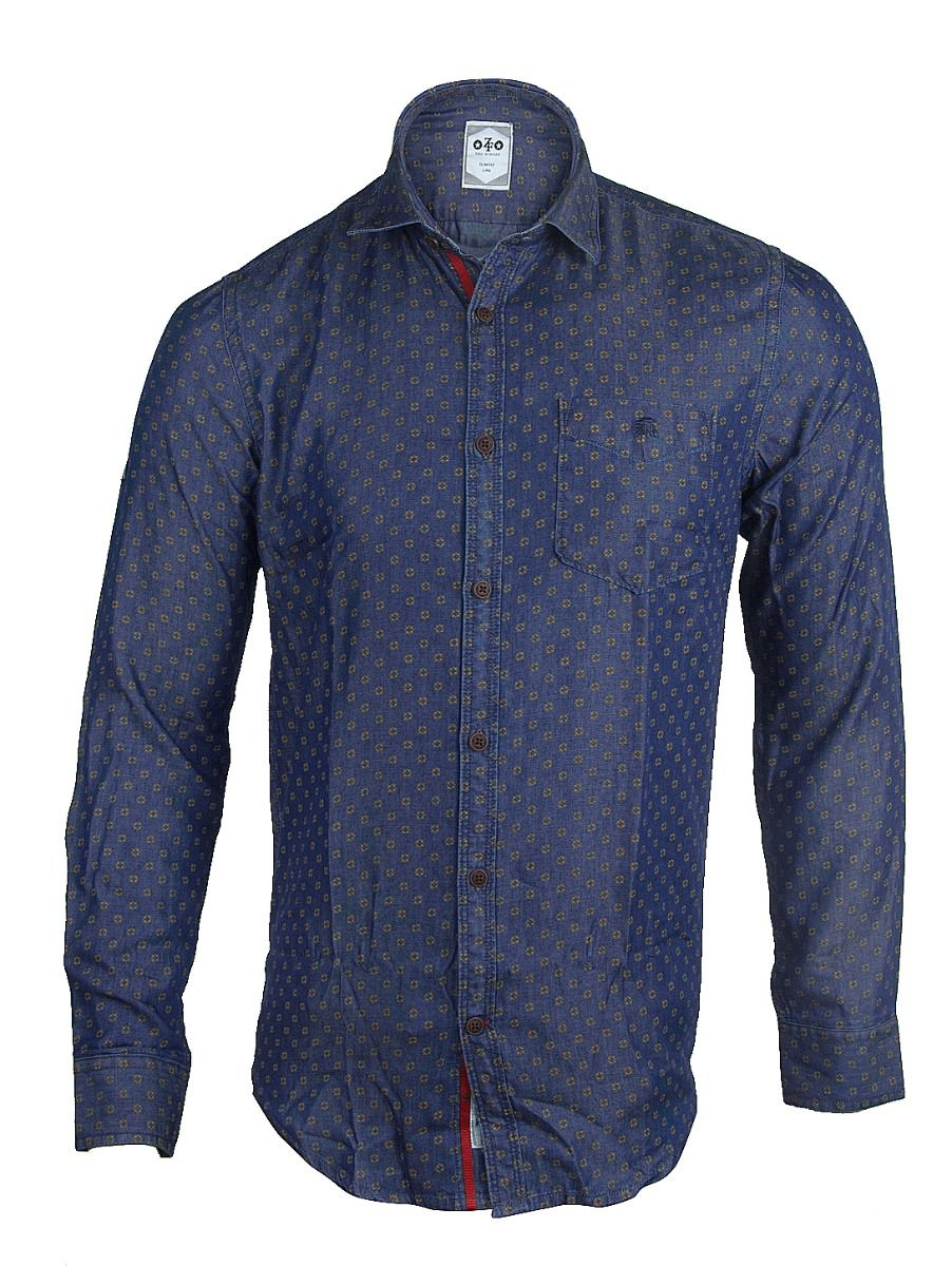 ZF Men's Casual Cotton Shirt - TUPMGA7773695