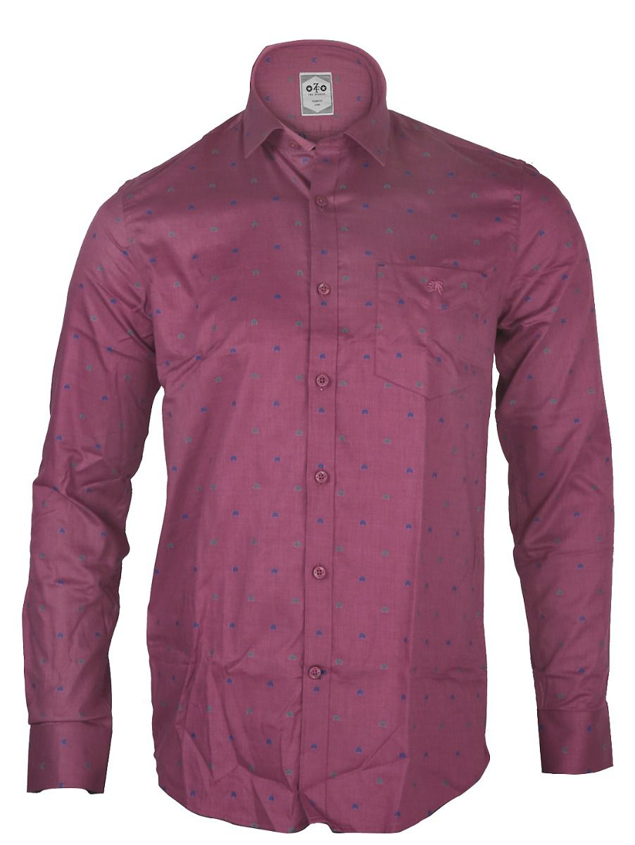 ZF  Men's Formal Cotton Shirt - TUPMGA8028473