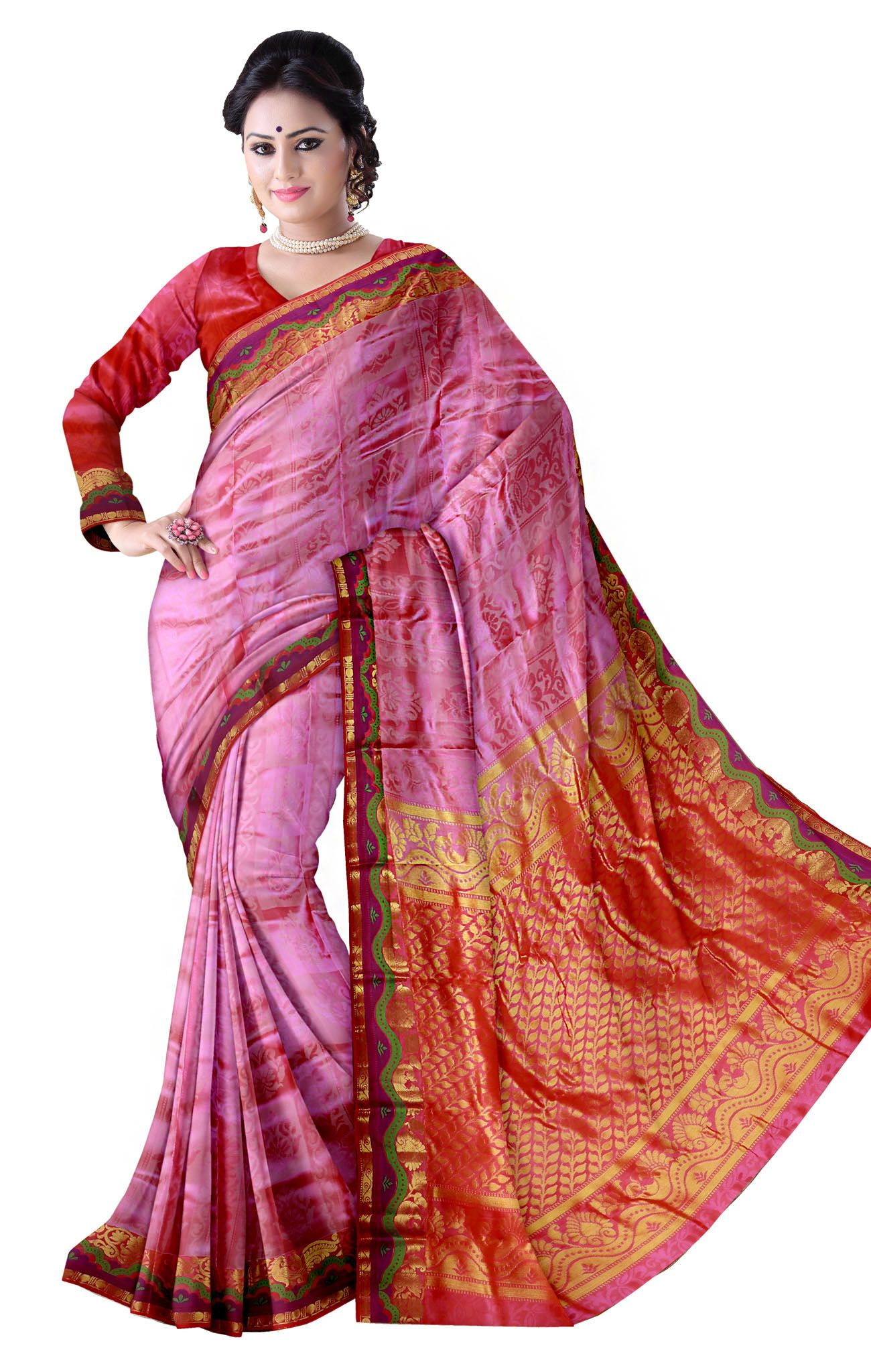 Traditional Silk Saree-SS0013