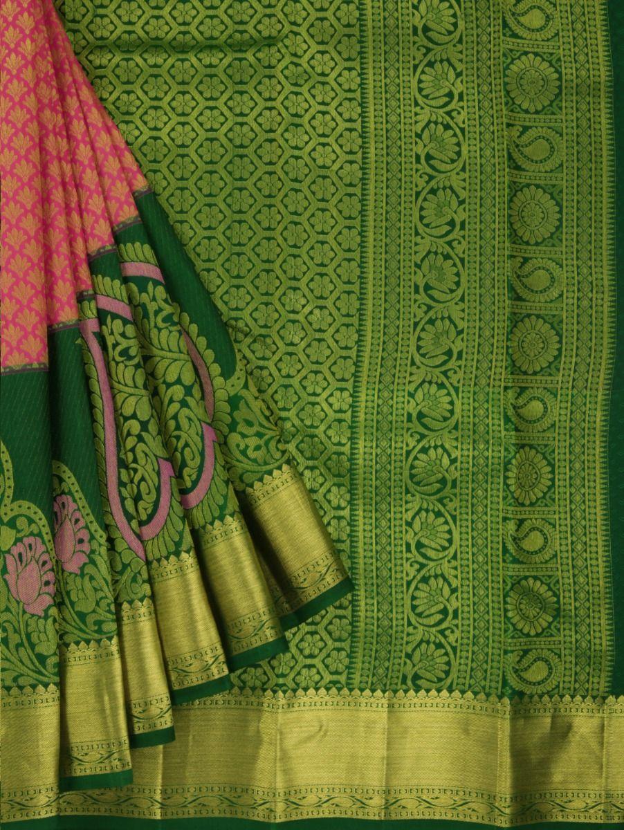 MJC7705397-Vivaha Wedding Pure Silk Saree