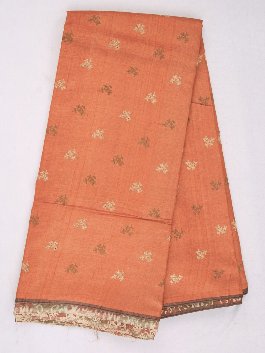 Kathana Exclusive Half and Half Design Tussar Silk Saree