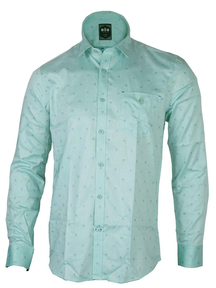 ZF  Men's Formal Cotton Shirt - TUPMGA8028485