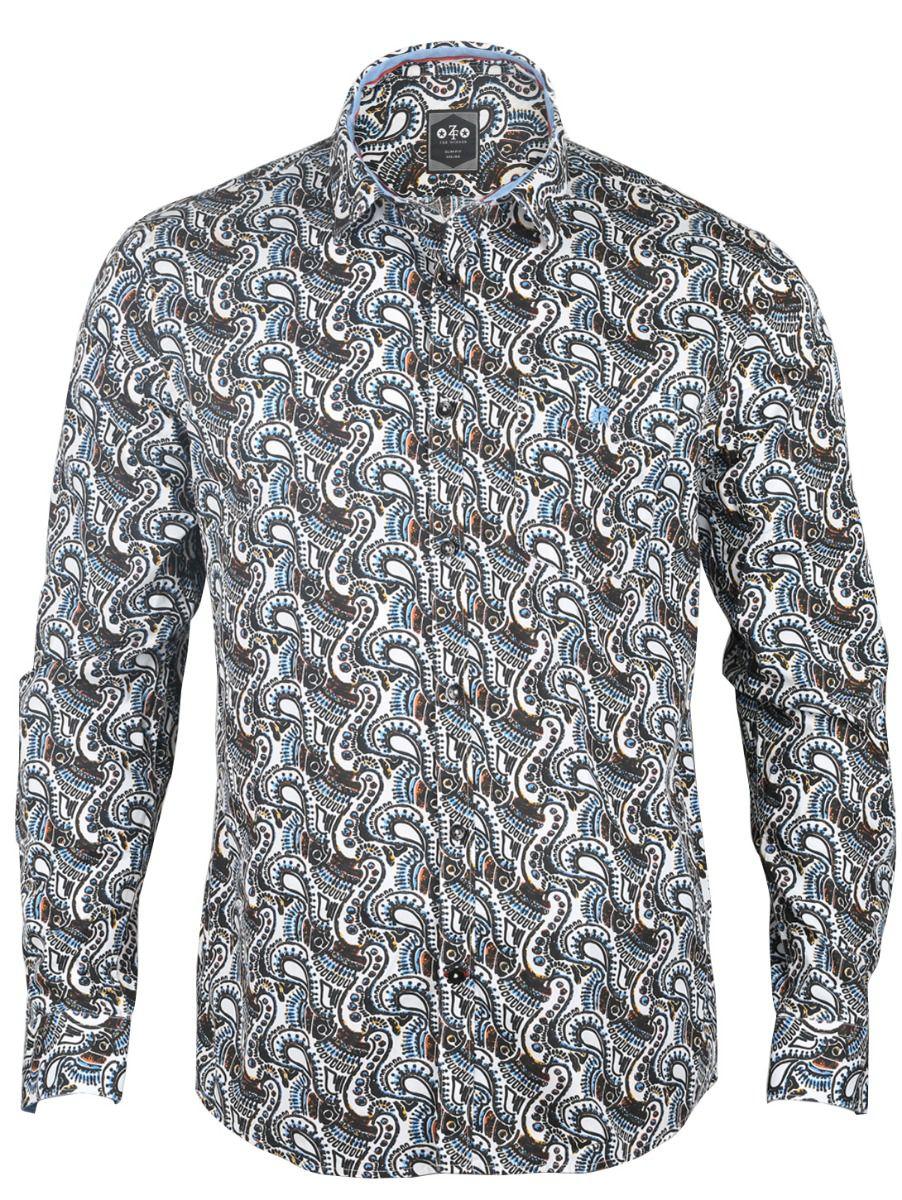ZF Men's Casual Cotton Shirt - 01TUPMGA8253661