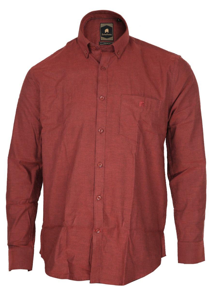 Zulus Festin Men's Formal Cotton Shirt - TUPMGA8253069