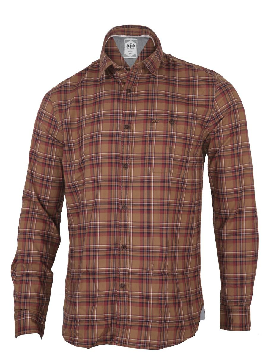 ZF  Men's Formal Cotton Shirt - TUPMGA8067459