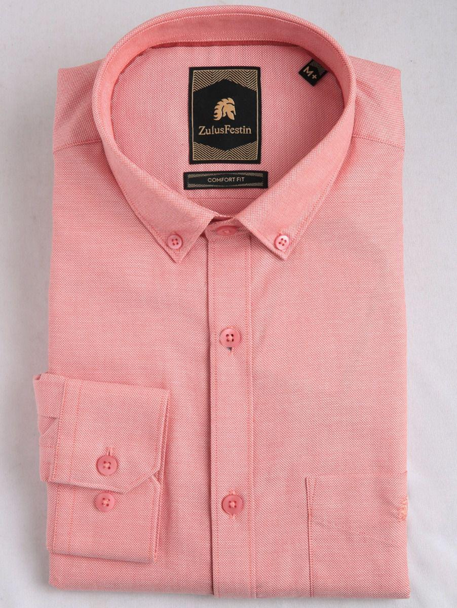 Zulus Festin Men's Cotton Formal Shirt - MGA7411890