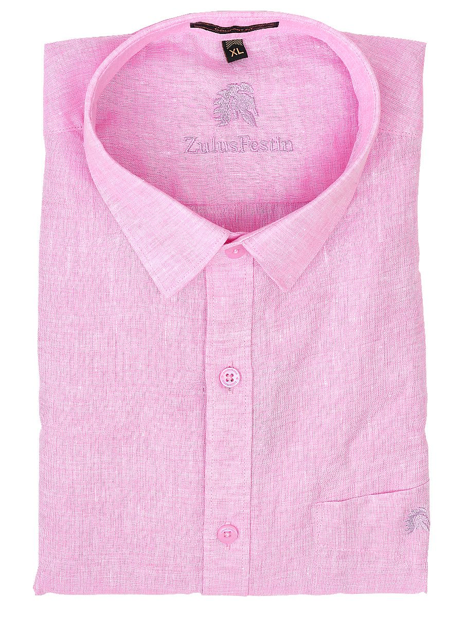 Zulus Festin Men's Linen Shirt - MGA7771325
