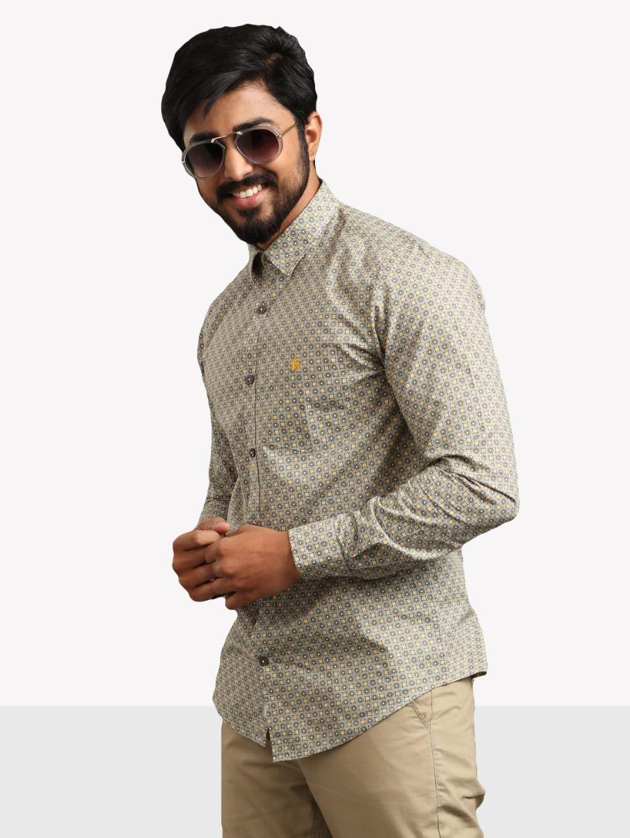 ZF Men's Casual Cotton Shirt