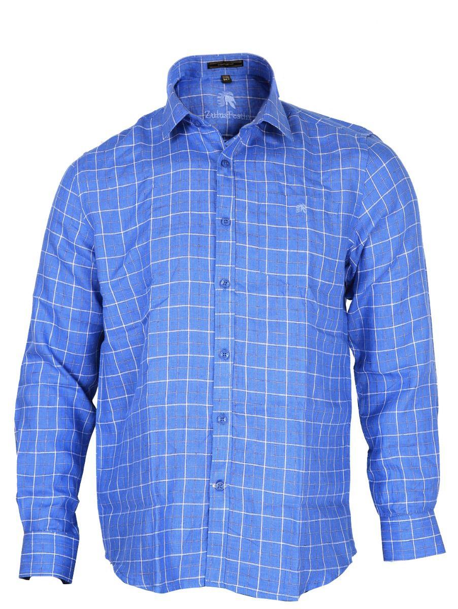 Zulus Festin Men's Formal Linen Shirt - MGC0296239