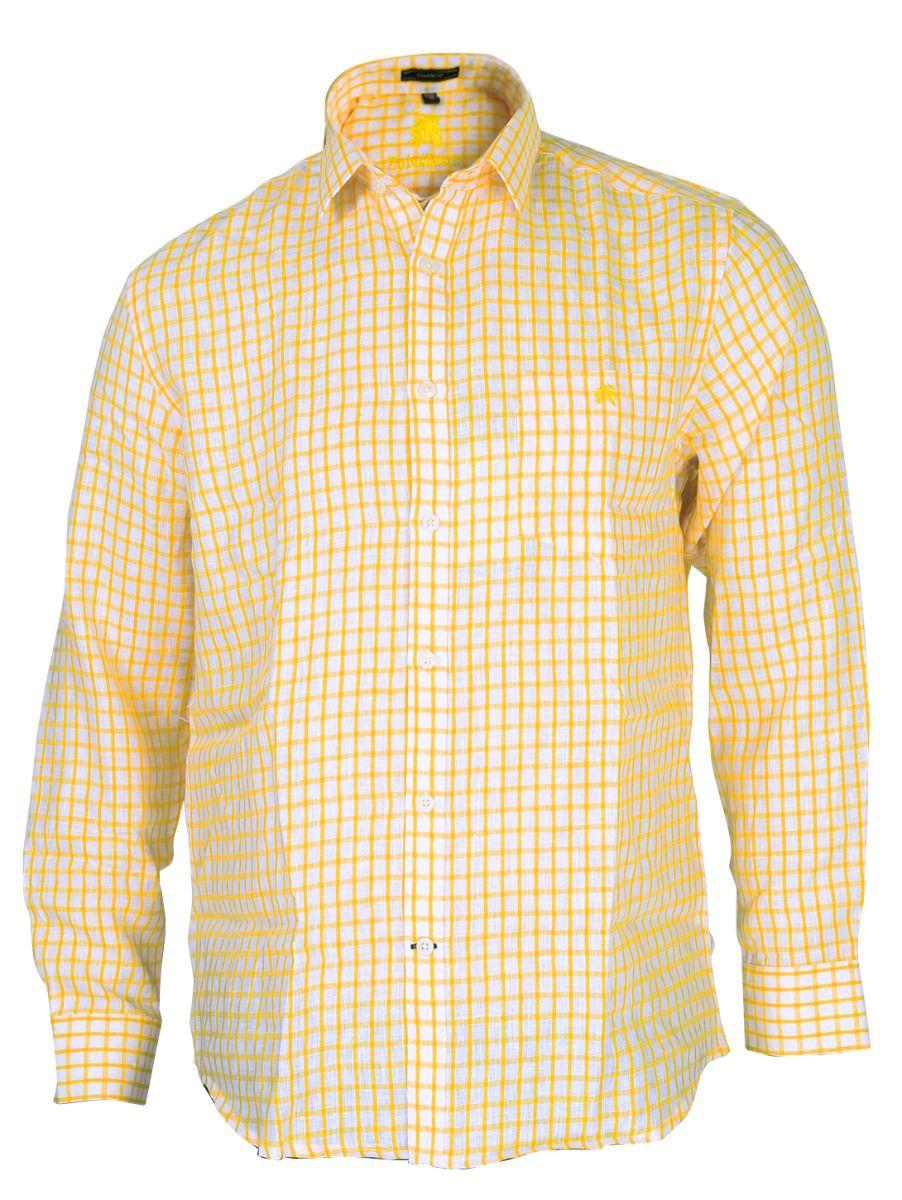 Zulus Festin Men's Linen Formal Shirt - TUPMGC0296267
