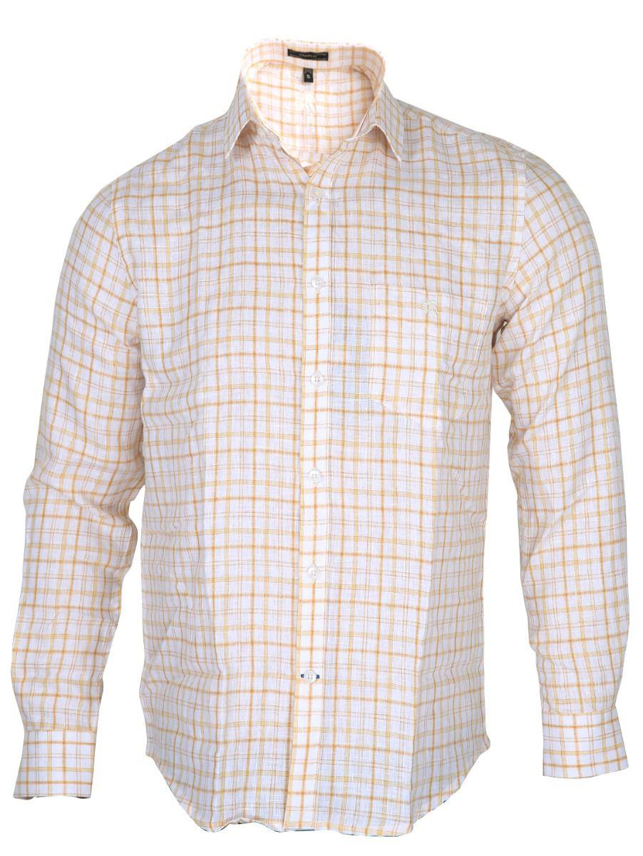 Zulus Festin Men's Formal Linen Shirt - MGC0296236