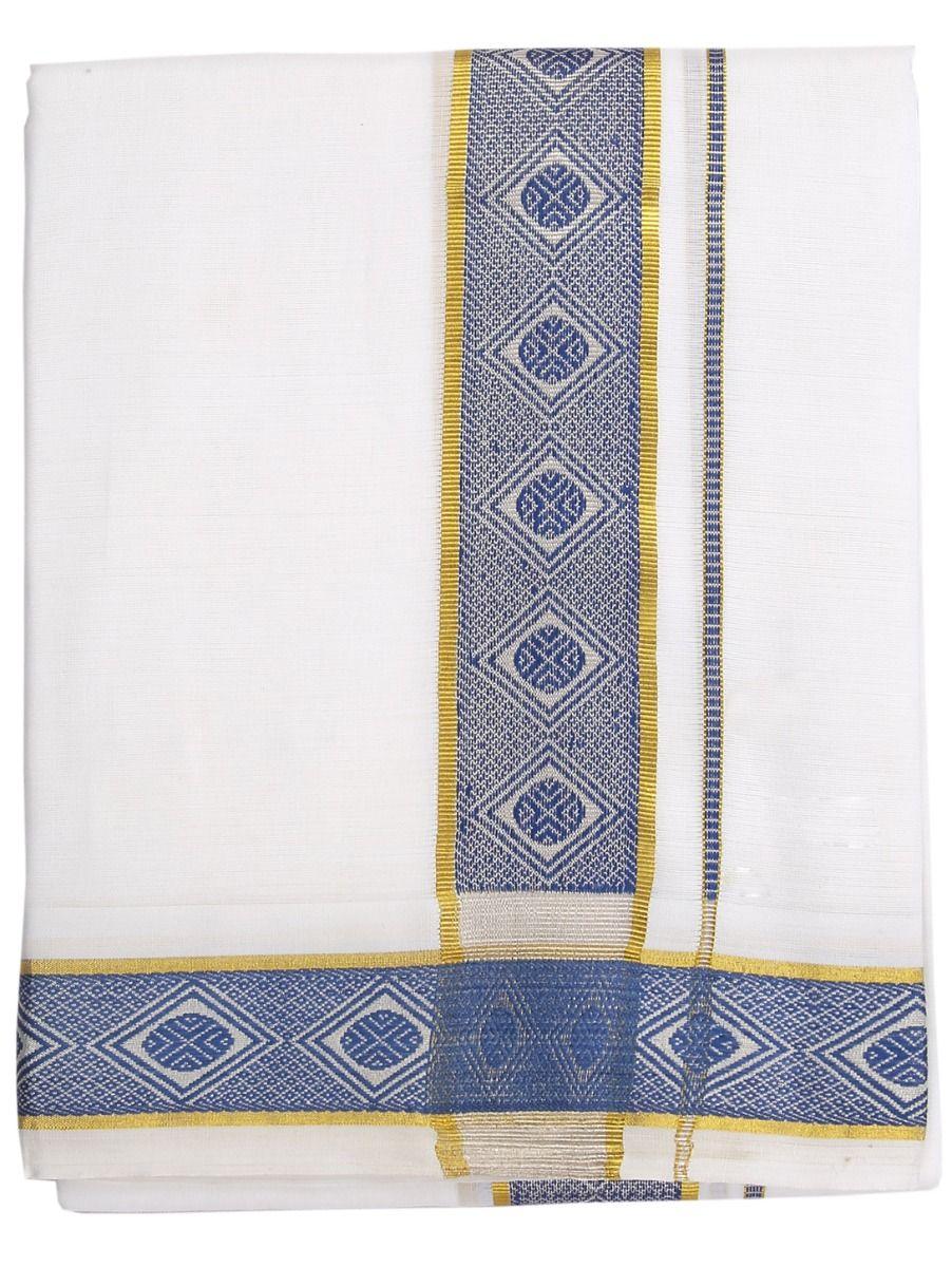 LJB8069357-Fancy Boder Deisgn Cotton Dhothy