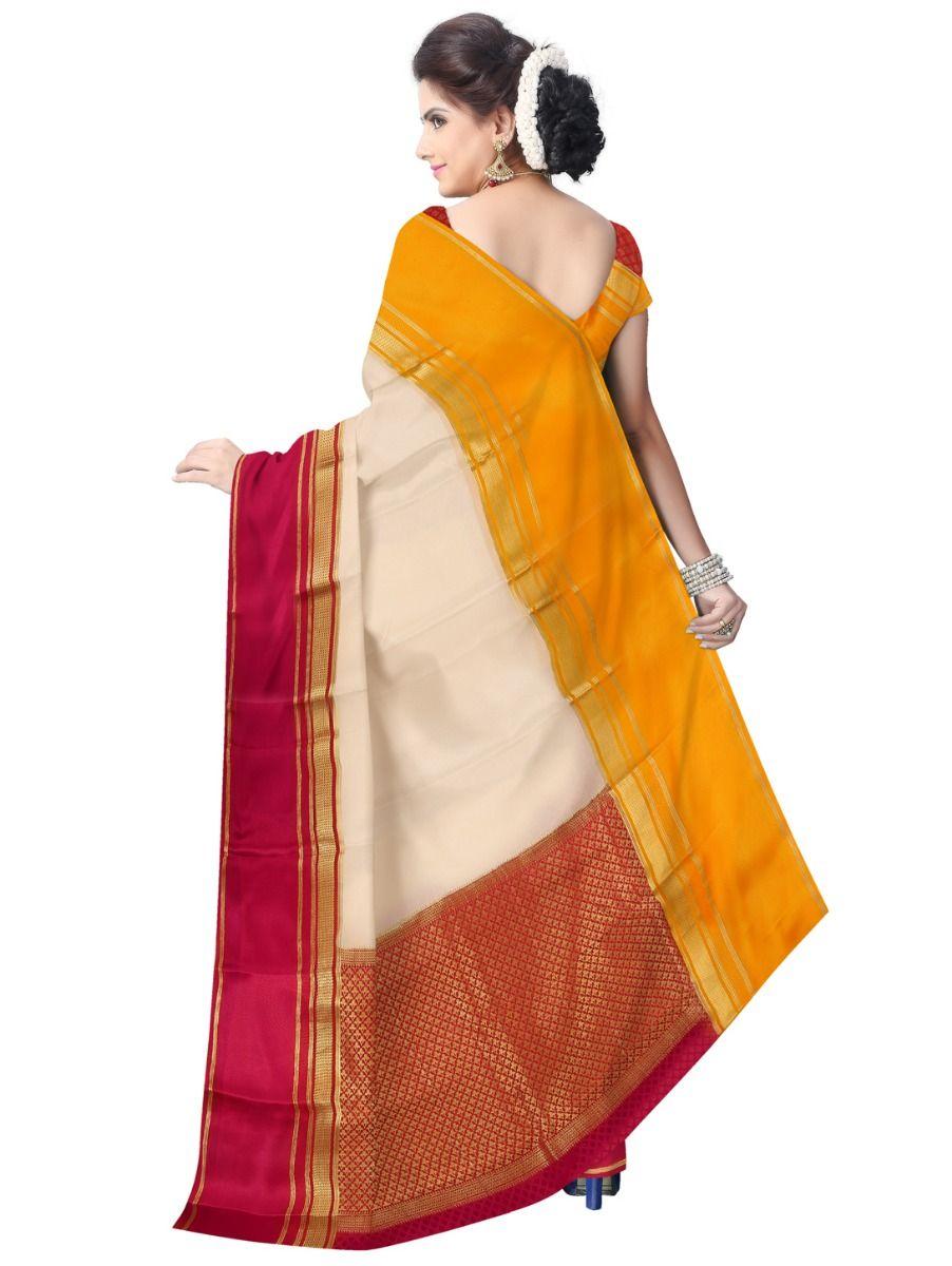 6209cce7c99 Kyathi Mysore Silk Pink Saree-LID6484498