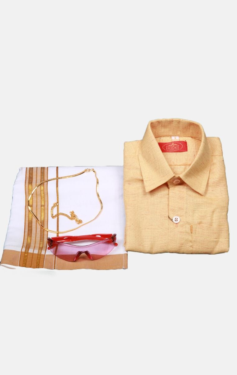 Boys Cotton Dothi Set-BCDS005