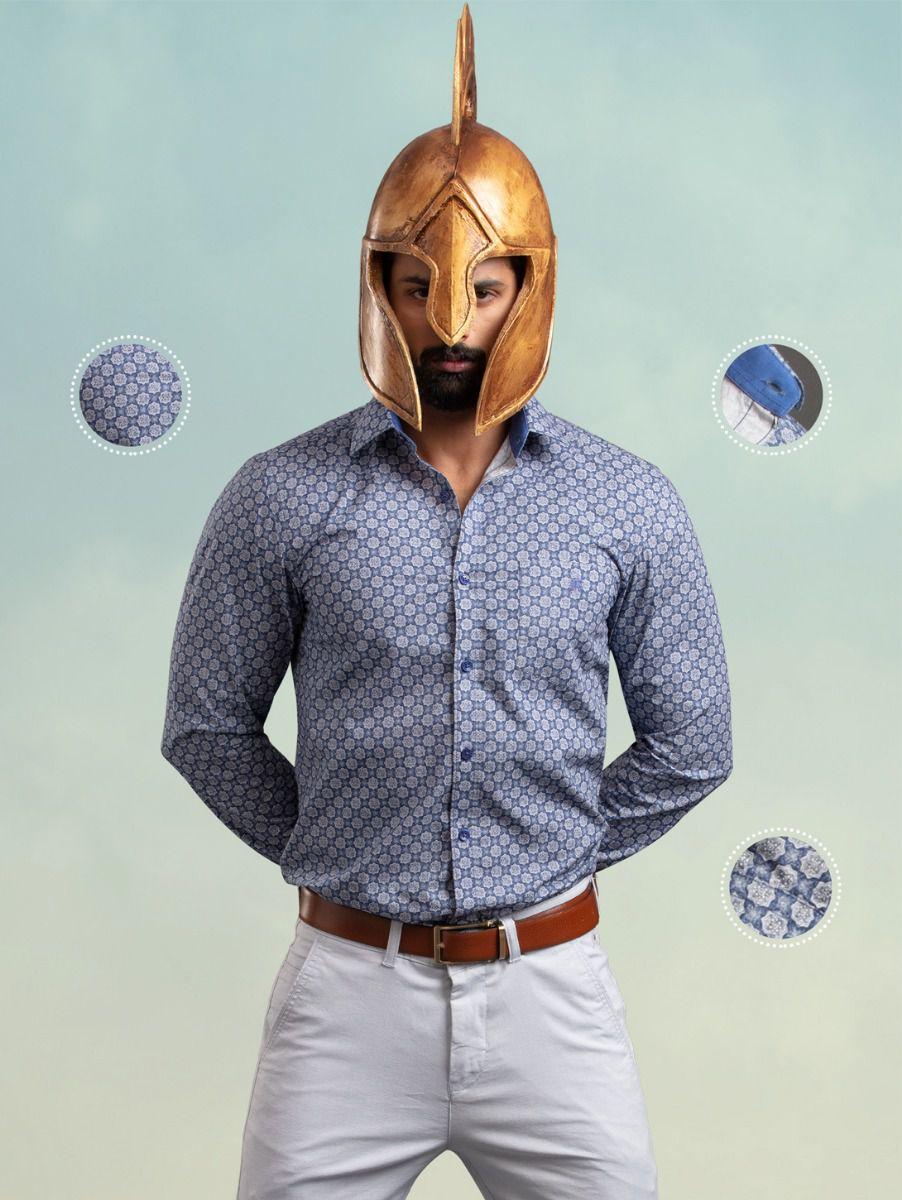 Zulus Festin Men's Casual Shirt - ZSF06