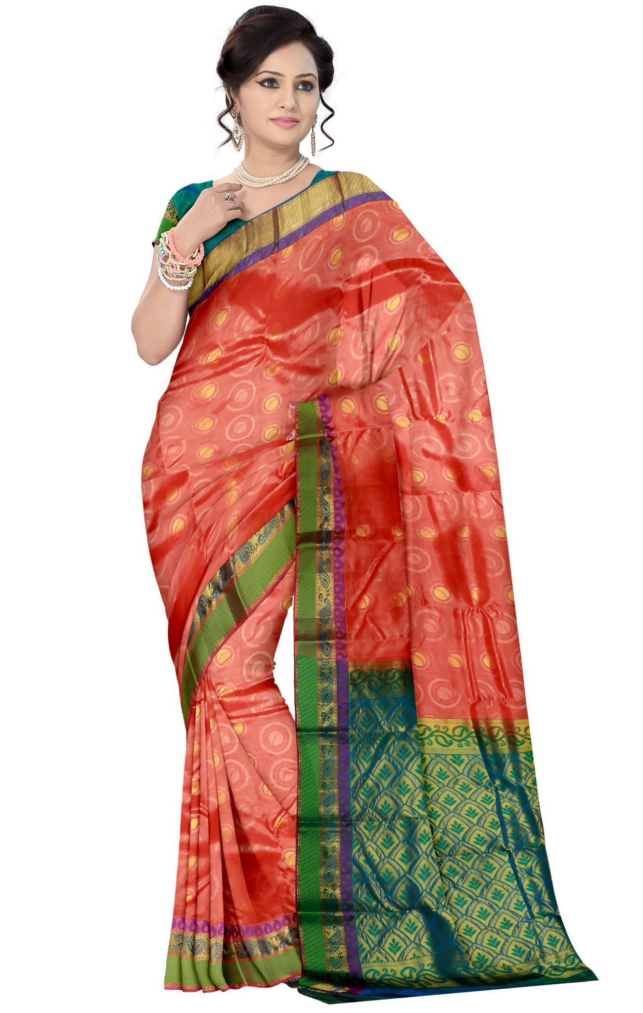 Traditional Silk Saree-SS0009