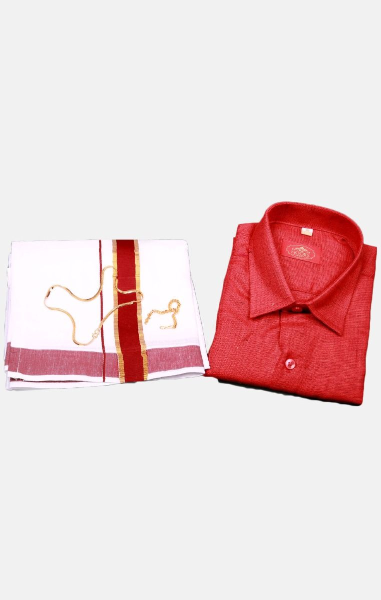 Boys Cotton Dothi Set-BCDS010