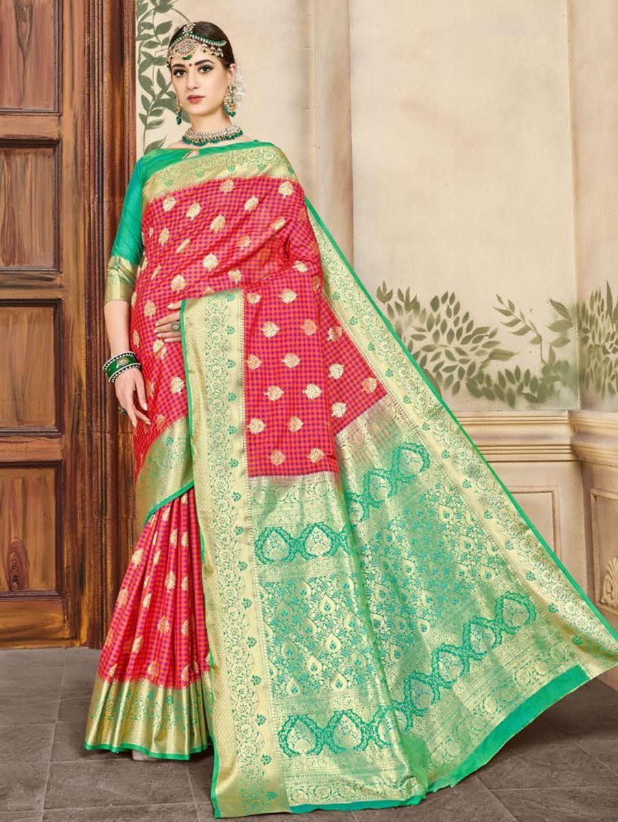 fancy-art-silk-saree-gfa112