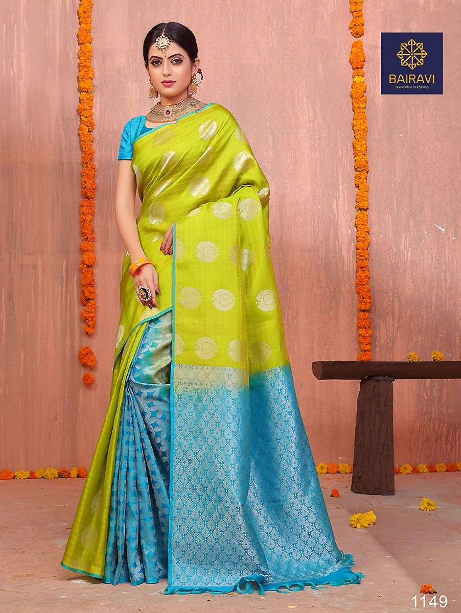 Partly Design Silk Saree