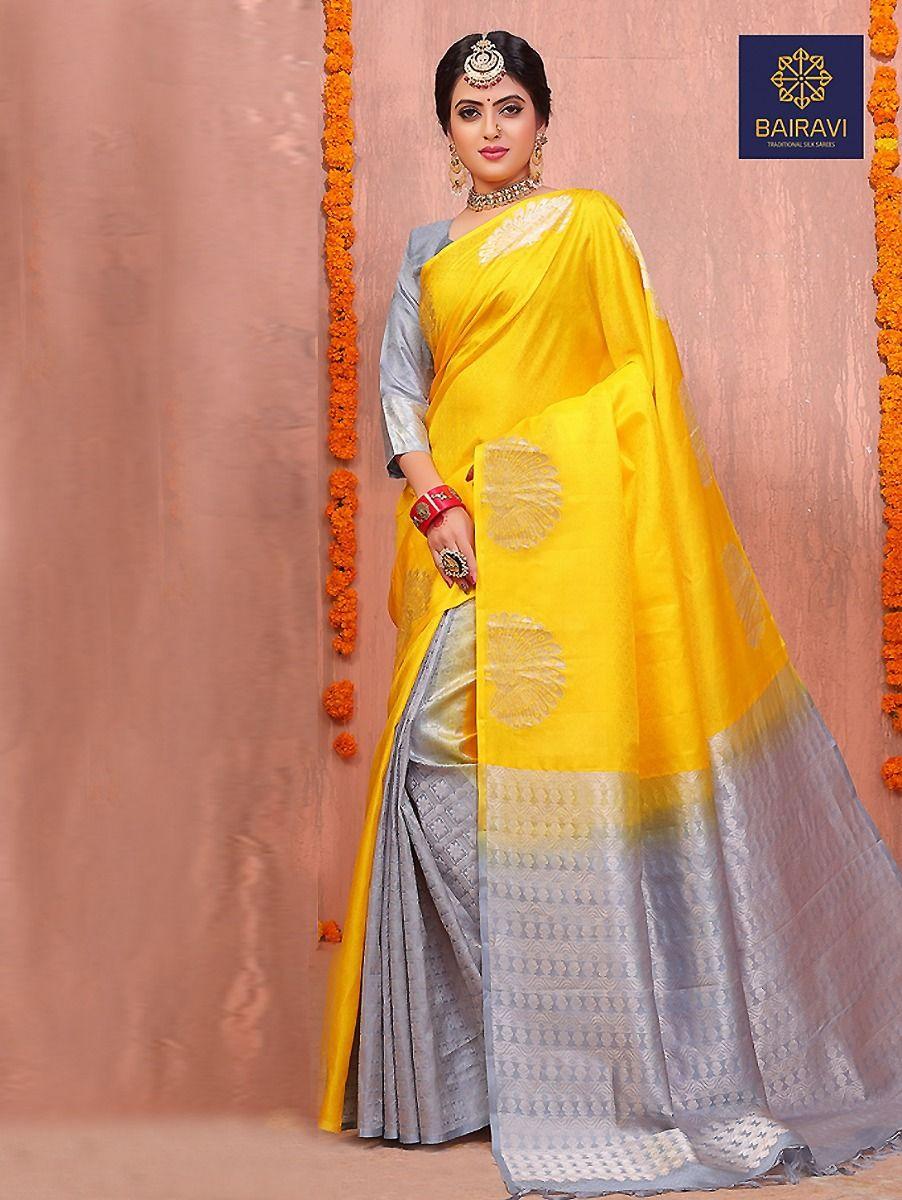 Bairavi Traditional Partly Design Silk Saree
