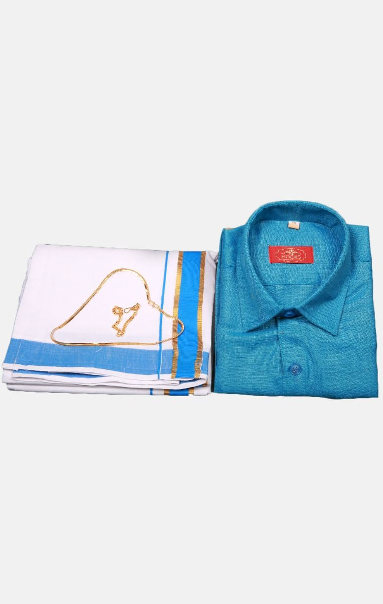 Boys Cotton Dothi Set-BCDS011