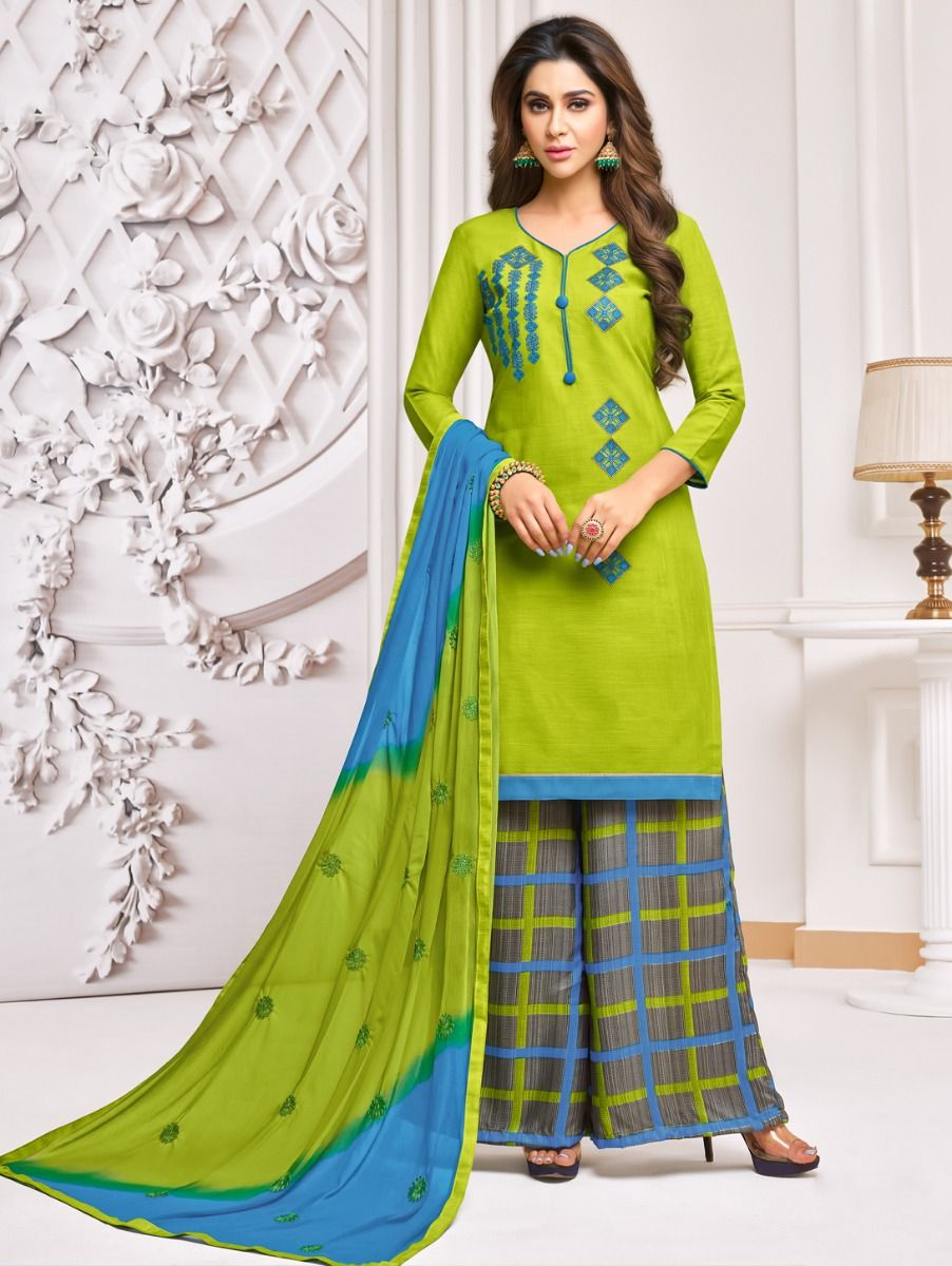 Isabella Women's Cotton Work Dress Material