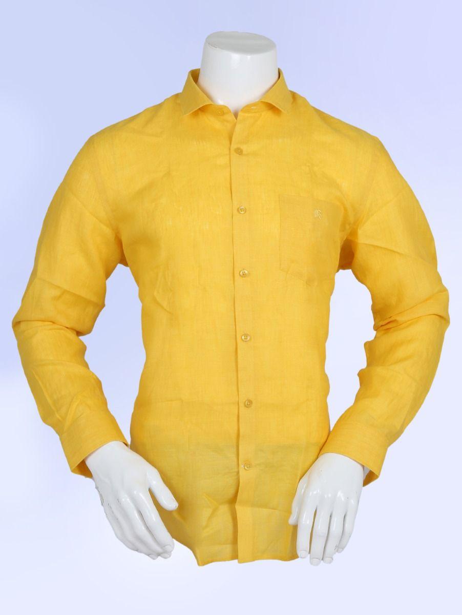 ZF Men's Linen Formal Shirt - ZF1204