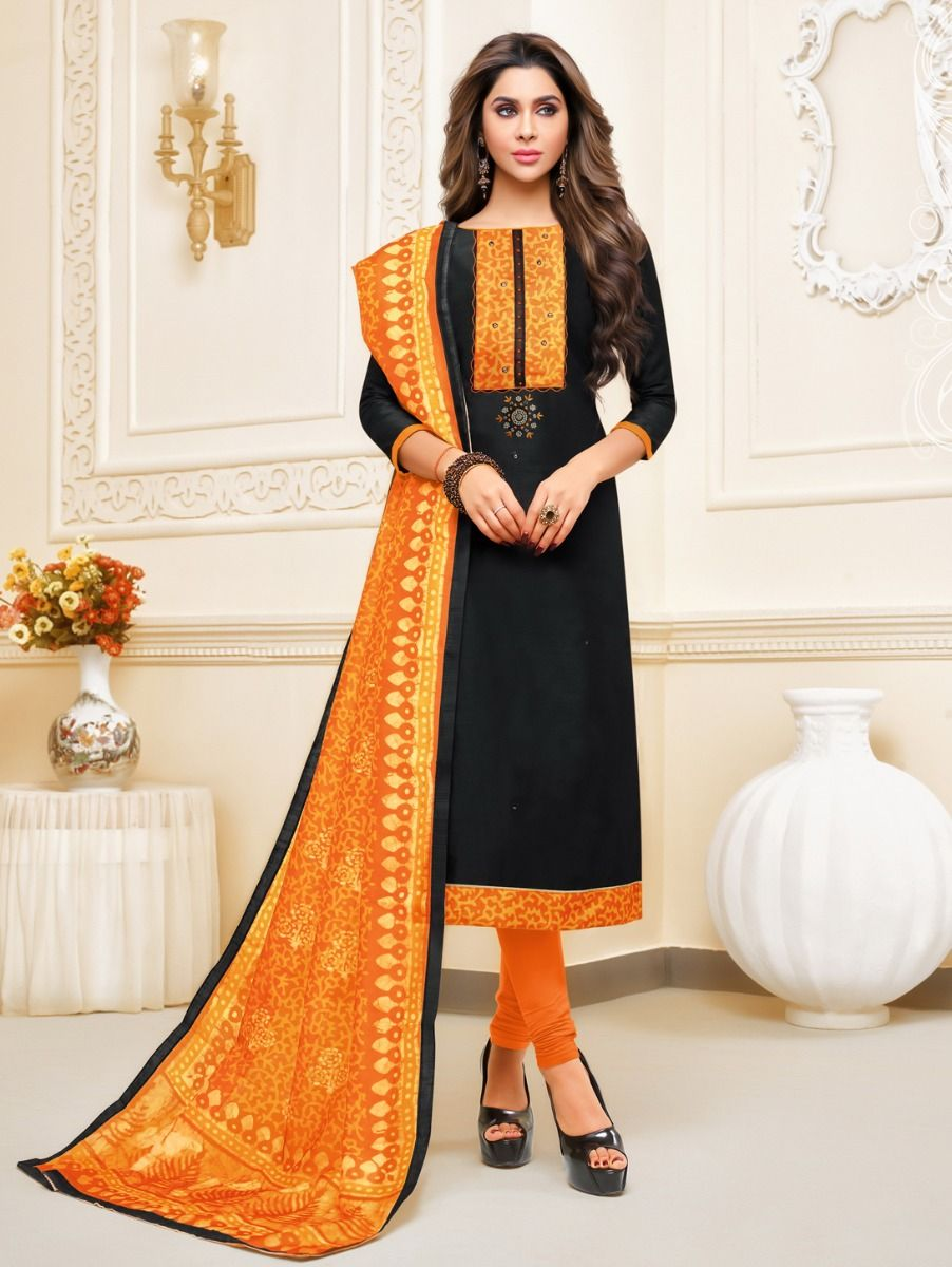 Isabella Women's Cotton Slub Dress Material-WCSDM17012`