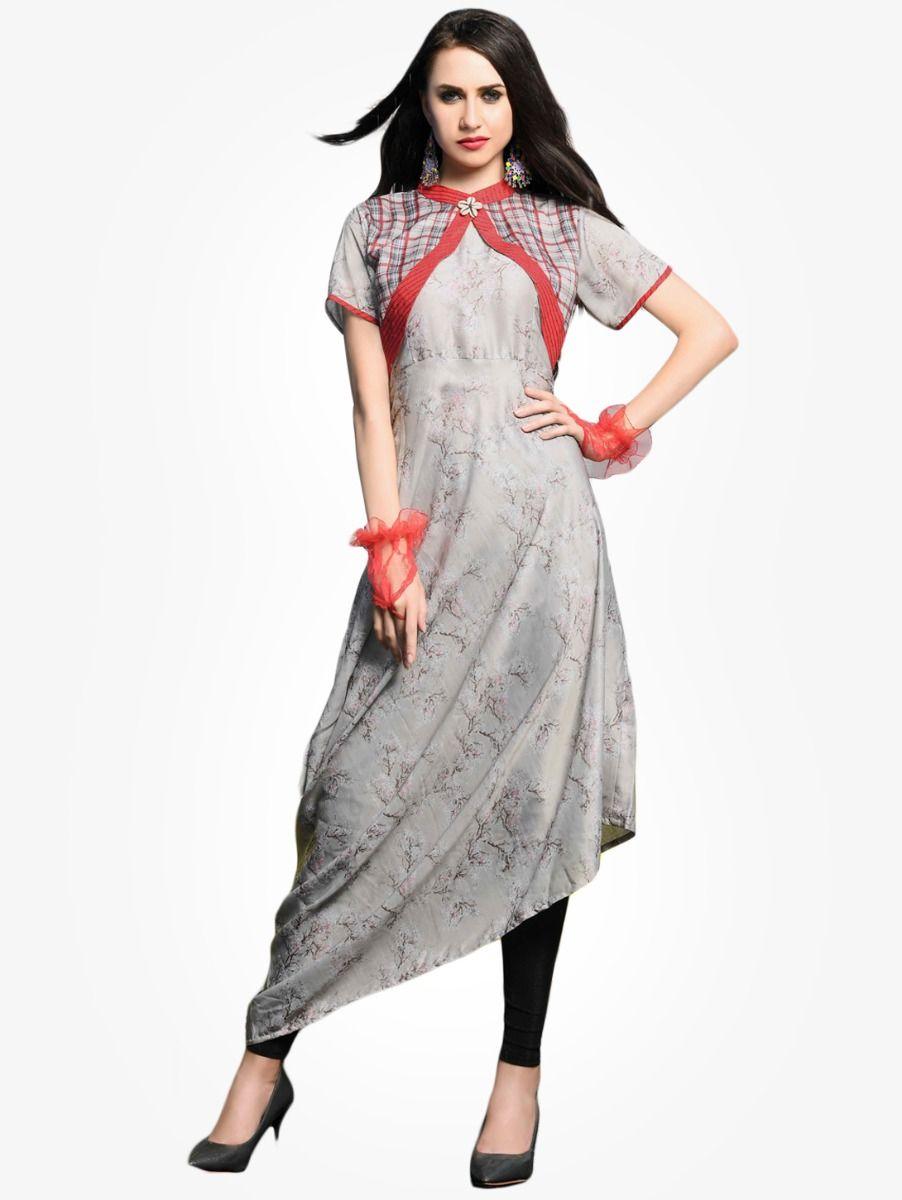Women's Stylish Printed Designer Top - NTWT213