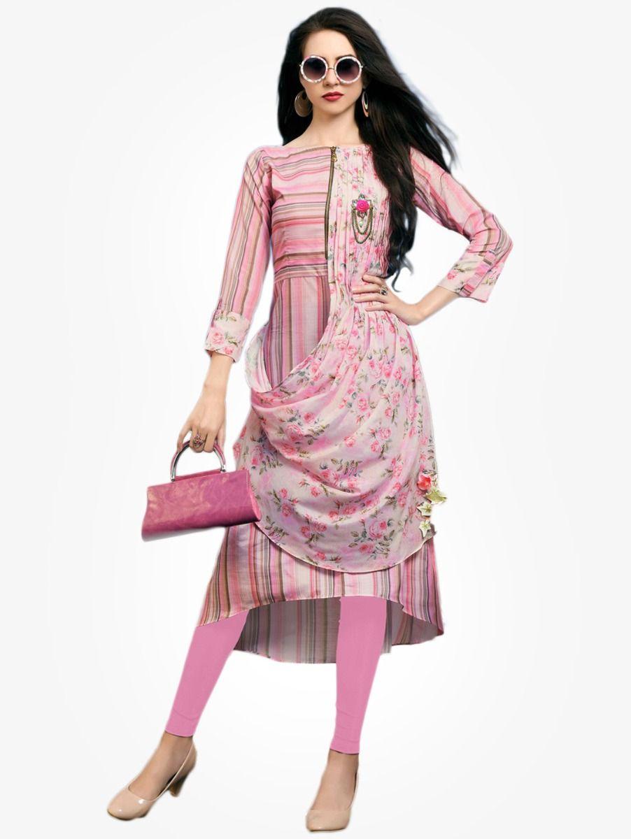 Women's Stylish Printed Designer Top - NTWT214