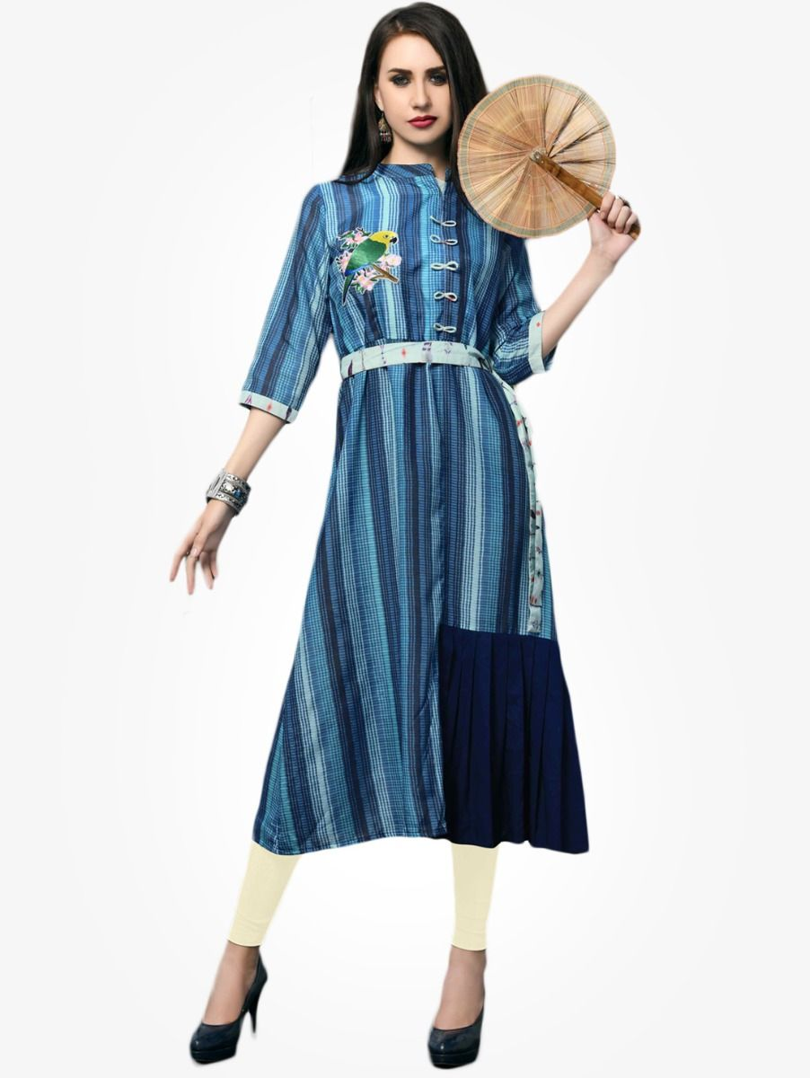 Women's Stylish Printed Designer Top - NTWT216