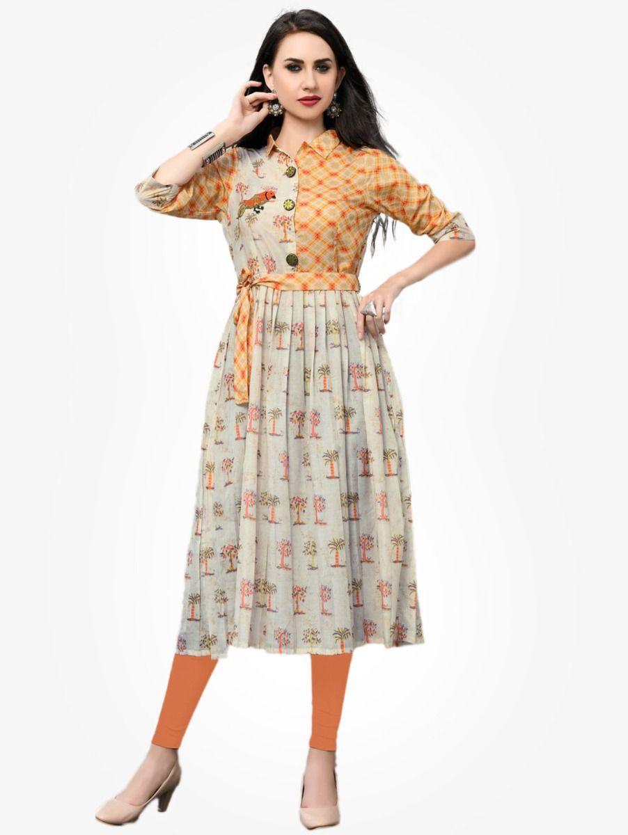 Women's Stylish Printed Designer Top - NTWT220