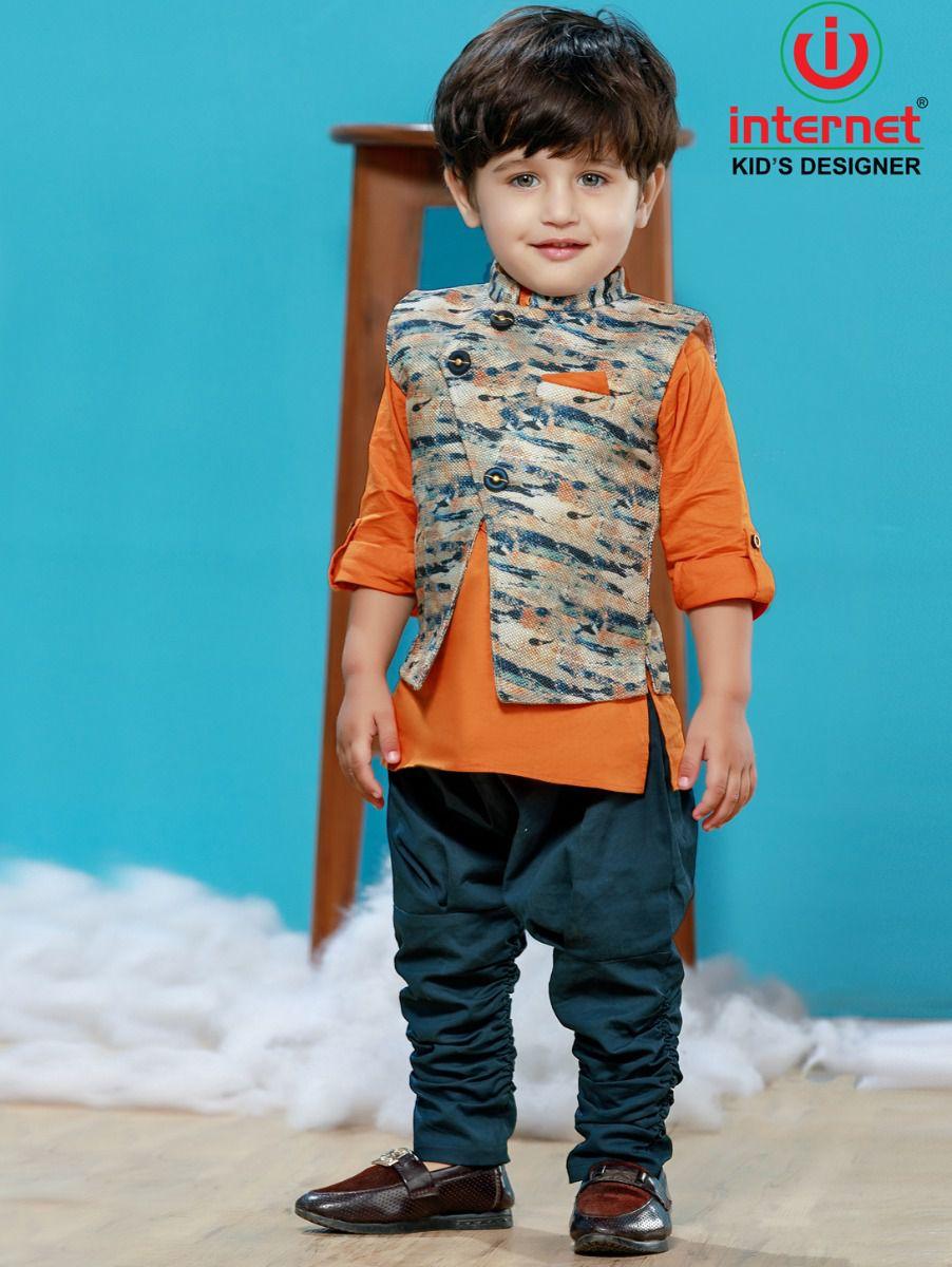Boys Casual Shirts and Pant Set - TUP2346