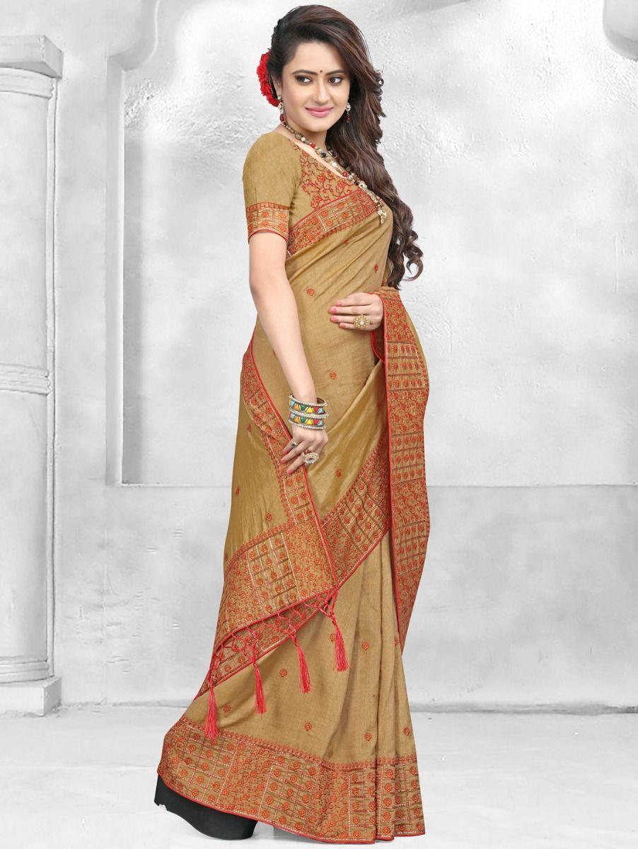 Kathana Designer Raw Silk Saree