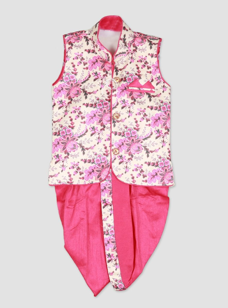 Pink Color Boys Suit Set