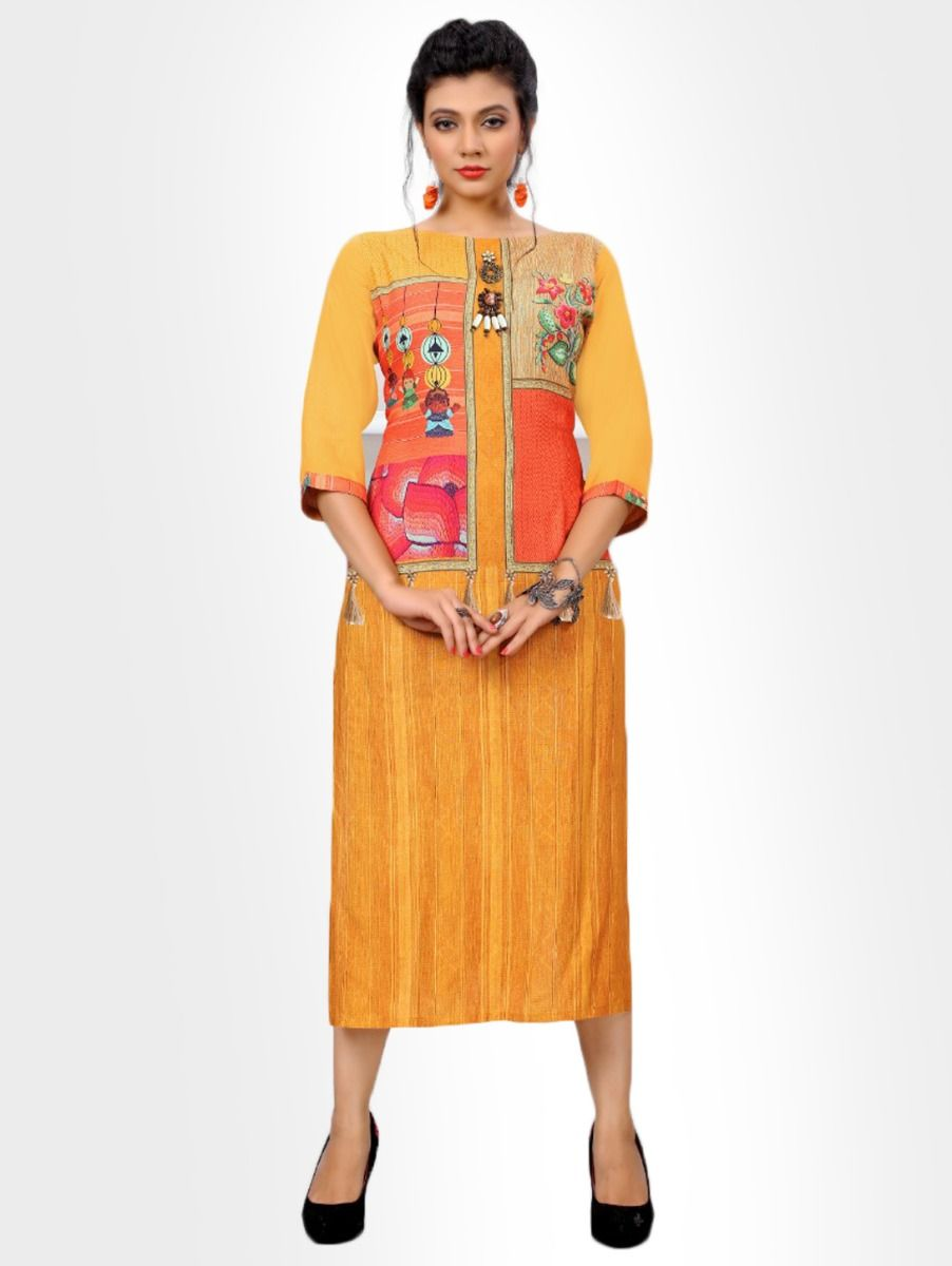 Women's Casual Printed Design Top - NTWT311
