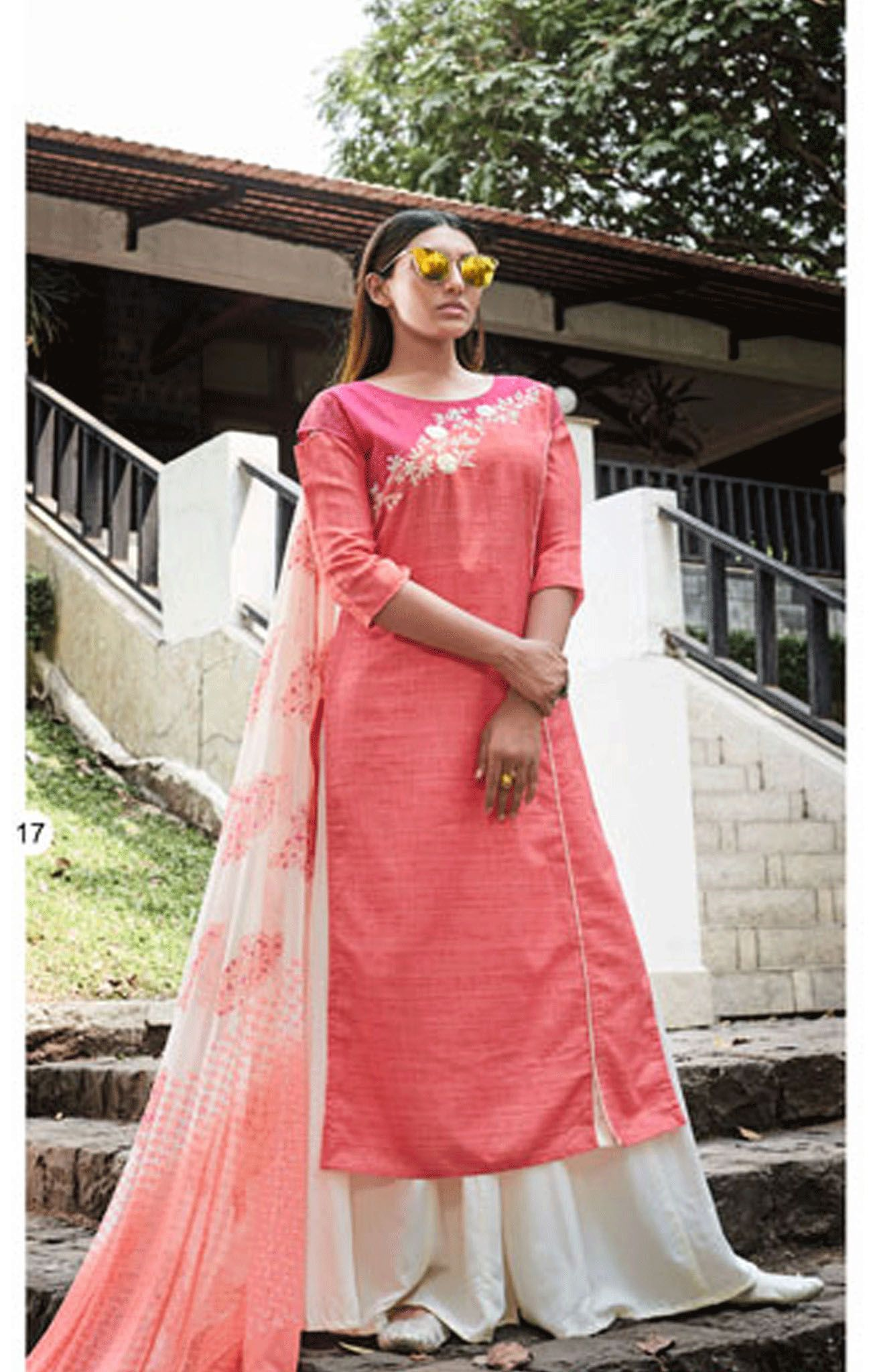 Cotton Readymade Salwar Kameez-RSK4061