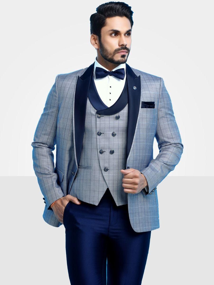 Men's Imported Designer Suit - 41272-46