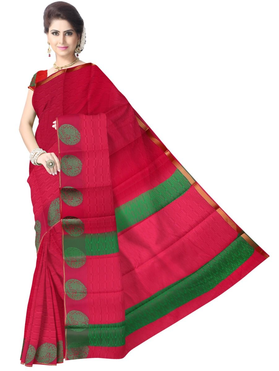 Fancy Art Silk Saree - FAS514
