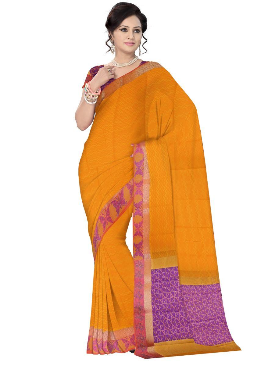 Fancy Art Silk Saree - FAS515