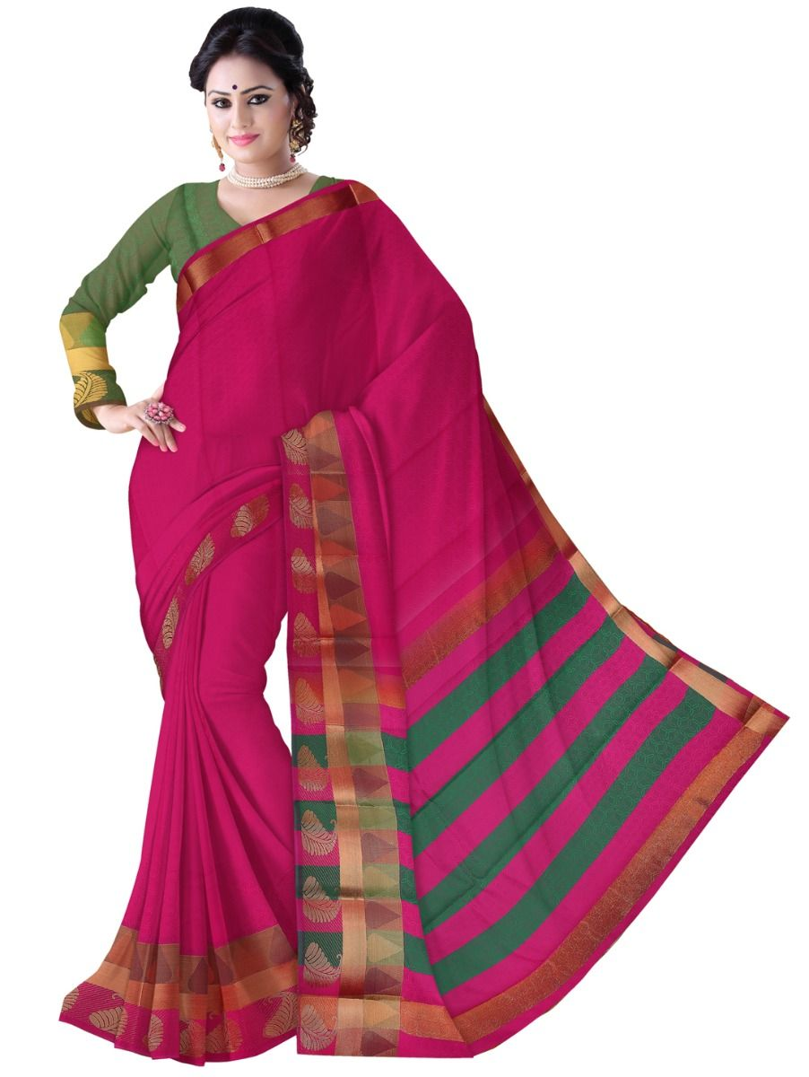Fancy Art Silk Saree - FAS519