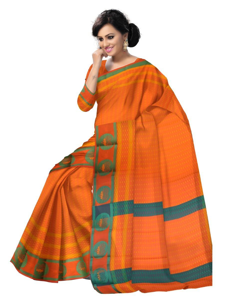 Fancy Art Silk Saree - FAS520