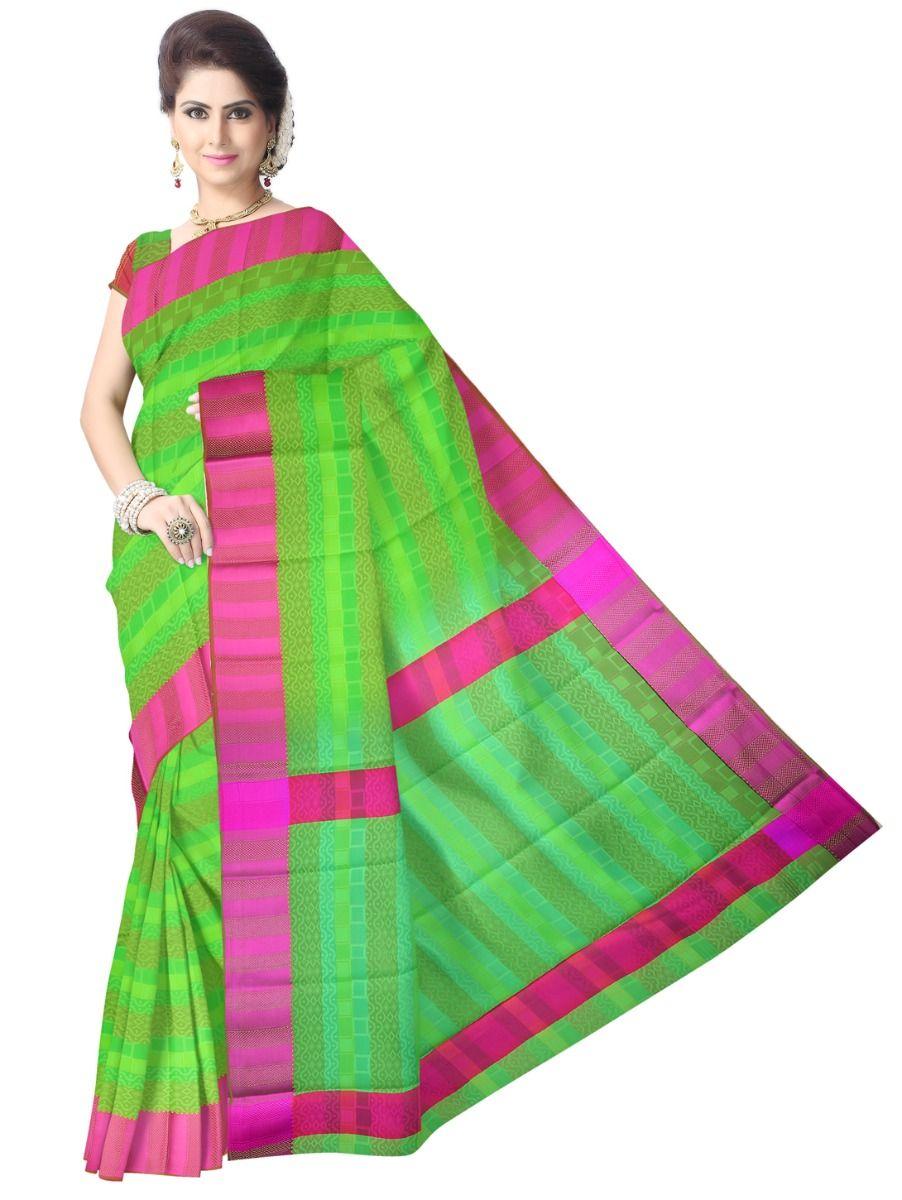 Fancy Art Silk Saree - FAS522