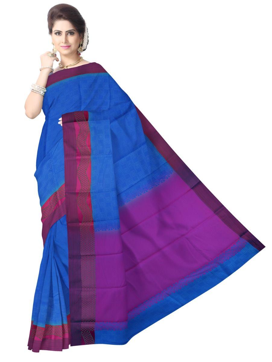 Fancy Art Silk Saree - FAS525