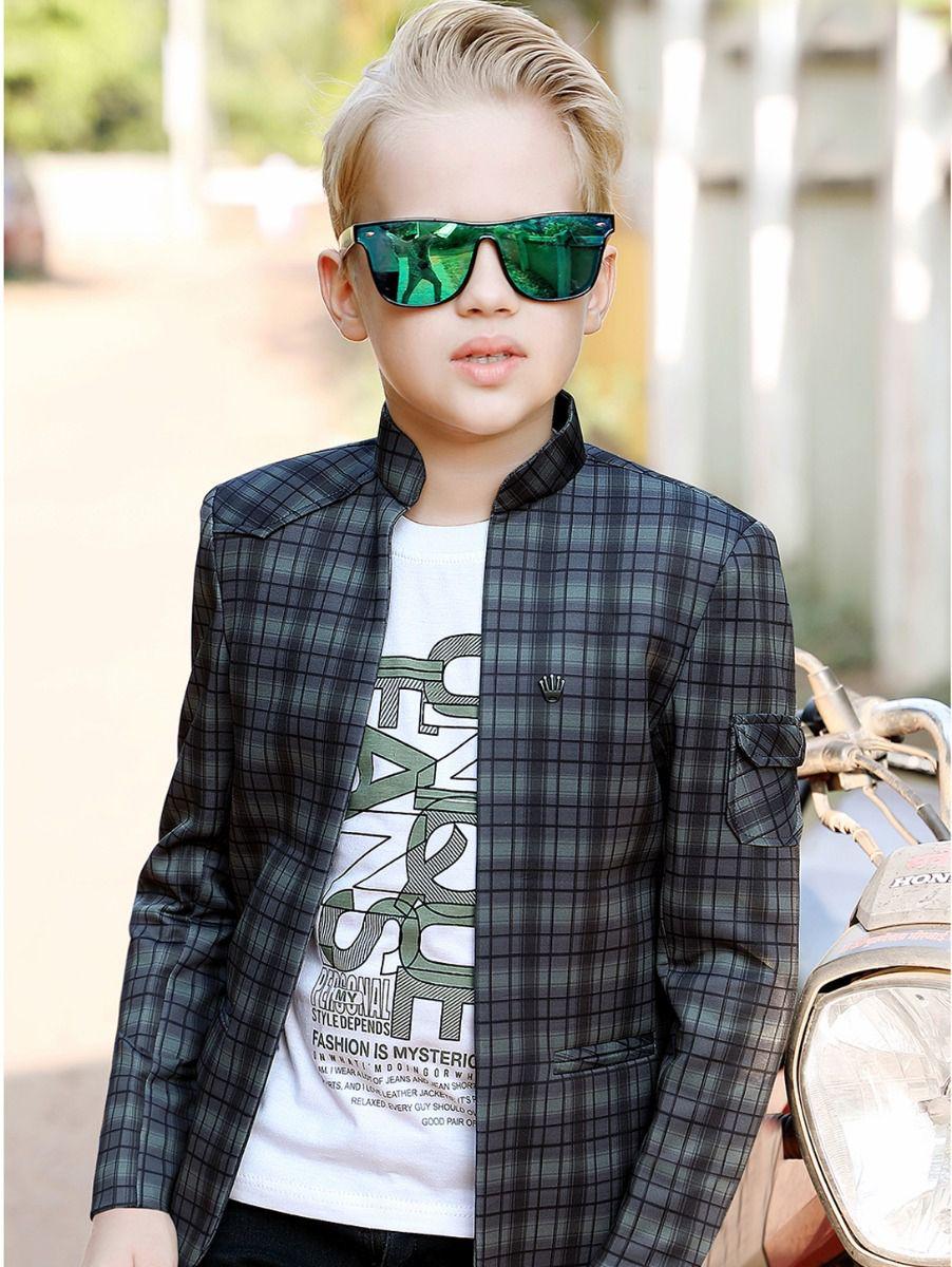 Syclone Boys Blazer With T-Shirt
